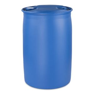 120 Liter Spundfass Spundlochfass L-Ring 120 L Fass Regentonne Farbe blau (120 Fass blau)