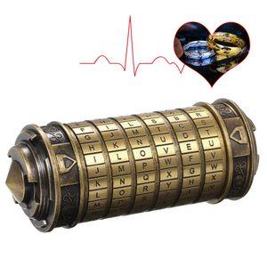 Code Toys Metall Cryptex Schloesser Hochzeitsgeschenke Valentinstag Geschenk Passwort vorhanden
