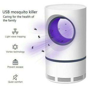 Moskito Killer Insektenvernichter Elektrisch LED Insektenlampe Mückenfalle Elektronischer Insektenvernichter Fliegenfalle Insektenschutz Mückenschutz Schwarz
