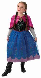 RUBIE'S Faschingskostüm Anna Musical Light up Dress Frozen Child, Größe: M