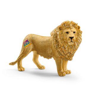 SCHLEICH 72156 - Löwe, Sonderbemalung 85 Jahre Schleich,  Tier, Spielfigur ab 3 Jahren