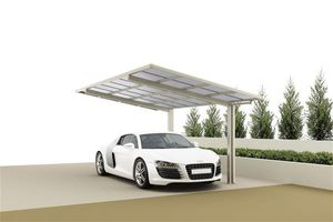 Carport XIMAX Linea Aluminium Typ 60 Standard ES 495x273x244cm