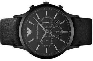 Emporio Armani Herren Armband XL Uhr AR2461 Chronograph