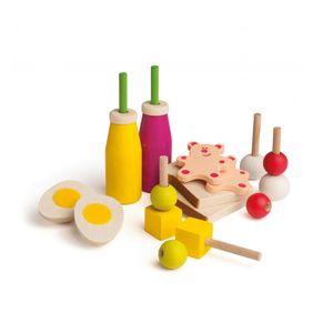 Erzi 28159 Picknick-Set für Kaufladen und Kinderküche