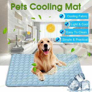 Sommerkühlmatte Hund Kühlmatte Haustier Katze Hund Cool Bed Pad S