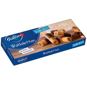 Bahlsen Waffeletten Vollmilch mit Schokolade überzogen 100g 6er Pack