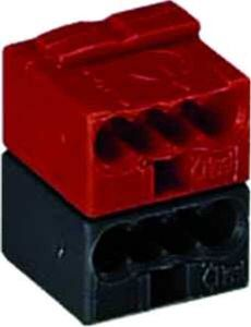 Wago 243-211 rot-schwarz fuer EIB-Anwendung Steckverbinder ( 100 Stk )