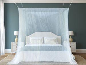 Schramm® Moskitonetz Mückenschutznetz Baldachin Insektenschutz Fliegengitter Mückennetz Betthimmel