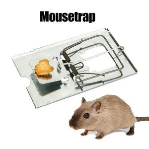 5x Profi Rattenfalle groß Metall Stahl Verzinkt Ratte Maus Schlagfalle 10*16 cm