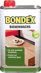 Bondex 500 ml Bienenwachs schützt und pflegt Holz, natürliche Rohstoffe, Farblos