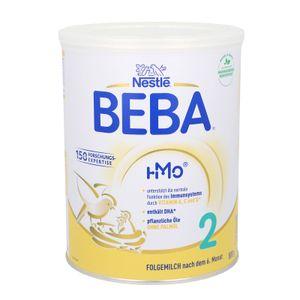 Nestlé BEBA 2, Säugling Milch, Babynahrung, Folgenahrung, Folgemilch, Nach dem 6. Monat, Dose, 800 g, 12465048