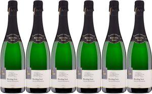 6x Riesling Sekt b.A. brut 2015 – Weingut Schnitzler, Mosel – Weißwein