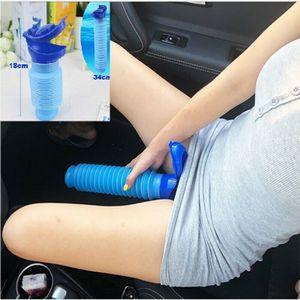 750ml Flexibel Pee Urinal Urin Männer Damen Tragbare Urinal Urin Trichter Auto Camping Reise WC