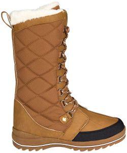 Winter-grip Damen Schneestiefel Sr Checkered Walker Braun/Beige/Anthrazit Winter-Schuhe, Größe:39