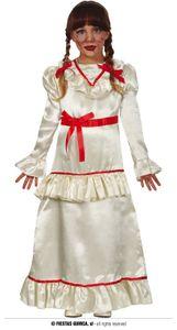 Fiestas Guirca dress up Kleid Devil Doll Mädchen Polyestercreme mt 10-12 Jahre