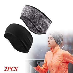 Boomersun 2PCS Set Headband Sport Stirnband Schweißband Fitness Jogging Laufen Kopfband Yoga