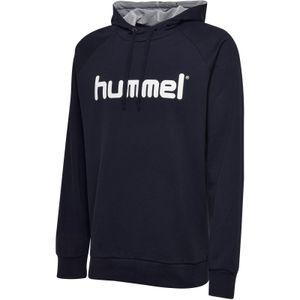 Hummel Go Baumwolle Logo Hoodie, XXL, Herren