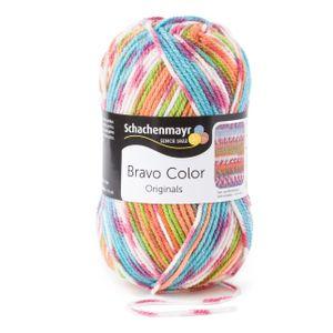 Schachenmayr Bravo Color, 9801421-02081, Farbe:Halloween Jacquard, Handstrickgarne