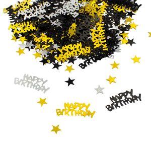 Oblique Unique Konfetti Happy Birthday Geburtstag Jubiläum Streudeko Streuteile Deko 500 Stk