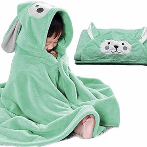 Babybadetuch superweiches Babytuch mit Hut, bequem und süß, geeignet für Neugeborene und Kleinkinder geeignet für 0-5 Jahre years