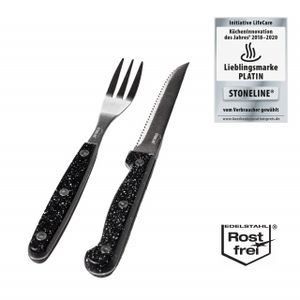STONELINE® Steakbesteck-Set, 12-tlg.