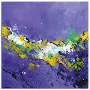 ARTland Alubilder Abstrakt I Alubild Größe: 50x50 cm