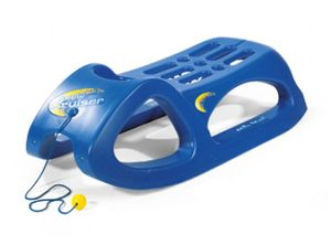 rolly toys SnowCruiserhohl geblasener Schlittenblau, Maße: 94x44x27 cm; 20 029 0