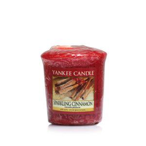 Yankee Candle Sparkling Cinnamon Votiv Sampler Duftkerze 49 g