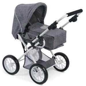 Bayer Chic 2000 Kombi-Puppenwagen LENI Jeans grey