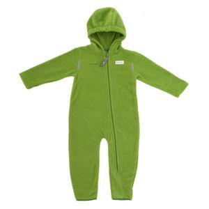 Hoppediz Fleece- Overall Grün, Kindergröße:80-86