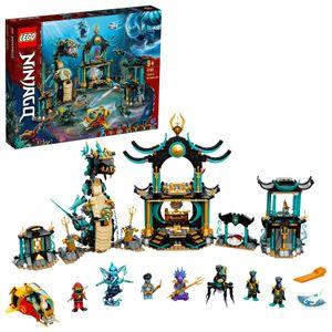 LEGO 71755 NINJAGO Tempel des unendlichen Ozeans Unterwasser Set Spielzeug für Jungen und Mädchen ab 9 Jahre mit Figuren