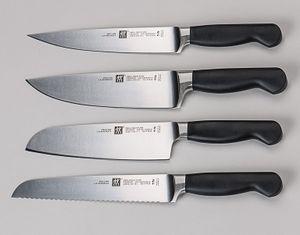 ZWILLING Fleischmesser ZWILLING Pure schwarz Spezialstahl ZWILLING Pure