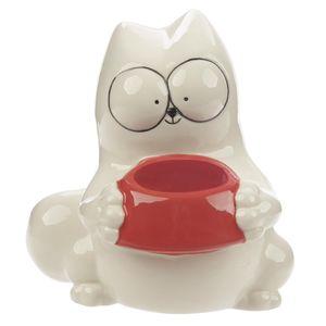 Spardose Feline Fine Katze Sparbüchse Sparkästchen Sichtfenster Sparbox