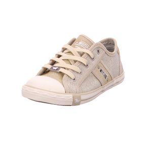 MUSTANG Damen Low Sneaker Beige Schuhe, Größe:39