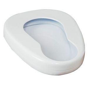 Tragbare Metall Glatte Bettpfanne Sitz Urinal Für Bettlägerige Patienten