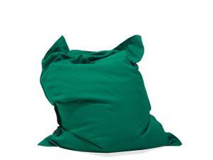 Sitzsack Smaragdgrün 140 x 180 cm Indoor Outdoor Stark wasserabweisender Langfristige Volumenstabilität Leicht Gewicht