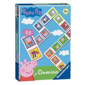 Domino Legespiel | Peppa Wutz | Peppa Pig | Ravensburger | 28 Spiel-Karten