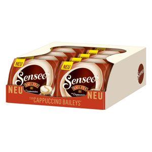 SENSEO Cappuccino Baileys Pads Sahnelikörgeschmack 10er Pack - 10 x 8 Getränke