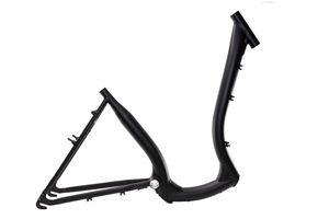 28 Zoll Alu Damen Fahrrad Rahmen City Tiefeinsteiger Easy Boarding schwarz matt Rh 46cm A Head 1 1/8