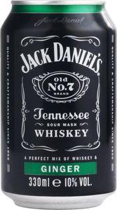 Jack Daniel´s Ginger 10% 0,33L