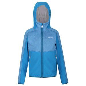 Regatta Kinder Bracknell II Softshell Jacke RG5068 (140) (Blau)