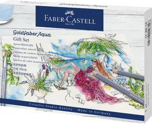 FABER-CASTELL Aquarellstifte GOLDFABER Geschenketui