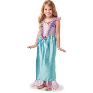 Arielle-Kostüm für Kinder Karneval violett-blau