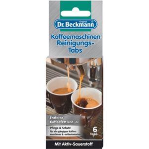 Dr.Beckmann Kaffemaschinen Reinigungs-Tabs 6er
