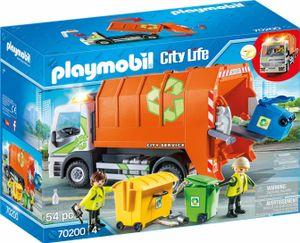 Playmobil City Life Müllfahrzeug, 70200