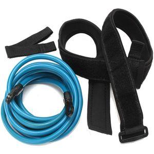 Schwimmtrainer Schwimmgürtel Schwimmgurt mit Hüftgürtel Schleife und Netztasche