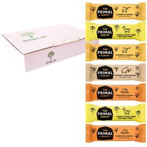 The Primal Pantry Paleo Energie-Riegel 7er Probierbox Vegan Glutenfrei Raw