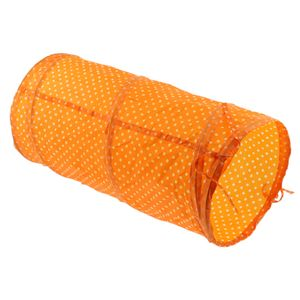 1 Stück Katzentunnel Spielzeug Farbe Orange
