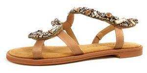 Alma En Pena Damen Sandale in Beige, Größe 39
