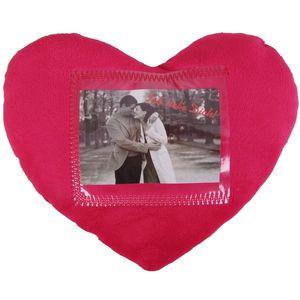 Herzkissen mit Fotofach Kuschelkissen Fotokissen Valentinstag Geschenkidee Love
